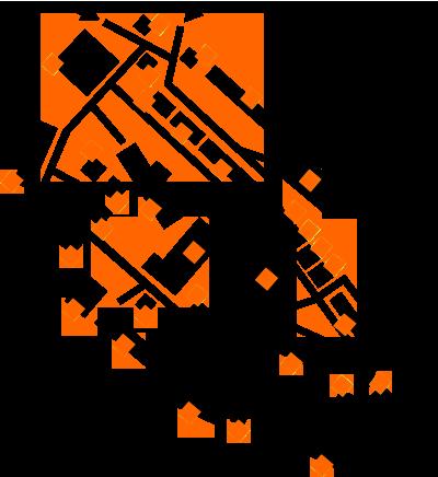 piantina-studio-quadratini-arancioni-mercomm-agenzia-comunicazione